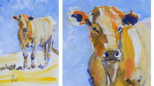 The Sunday Art Show - Painting a cow in twenty minutes