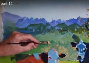 Cow Painting - Video part 12