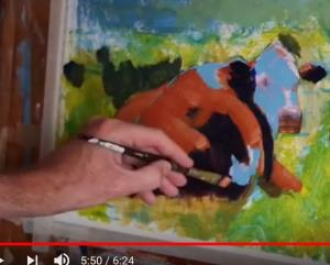 Cow Painting - Video part 10