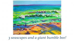 The Sunday Art Show - En Plein Air Seascape Paintings