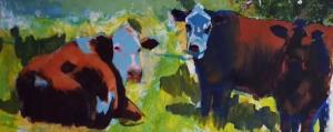 Cow Painting - Video part 11
