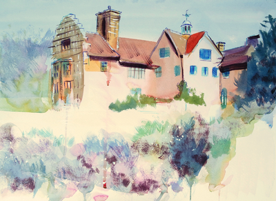 Sky Arts Landscape Artist of the Year - Chartwell House - Episode 1