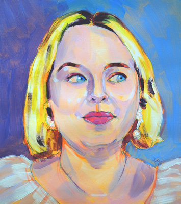 Sky Arts Portrait Artist of the Week - Season 3 - Nicola Coughlan