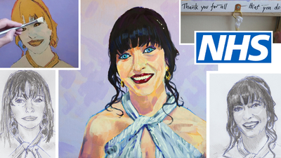 The Sunday Art Show - Portraits for NHS Heroes