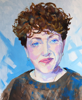The Sunday Art Show - Sky Arts Portrait Artist of the Week - Annie MacManus