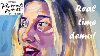 The Sunday Art Show - Sky Arts Portrait Artist of the Week - Melanie Blatt